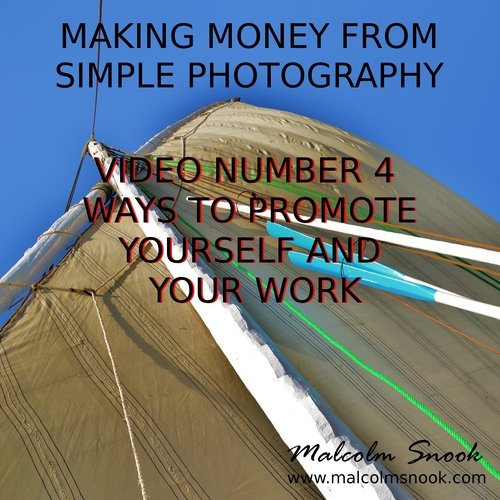 Product picture Making Money From Photography Promoting Your Work (video 4)
